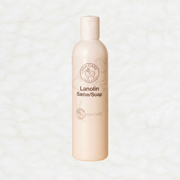 LANACare Lanolin-Replenishing Soap / Wool Wash (7.5% lanolin) - 250 ml (8 oz)