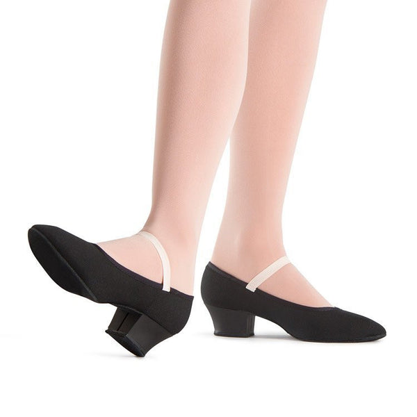 "Bloch S0314G - Karacta Sport 1.25"" Character Shoe Child"