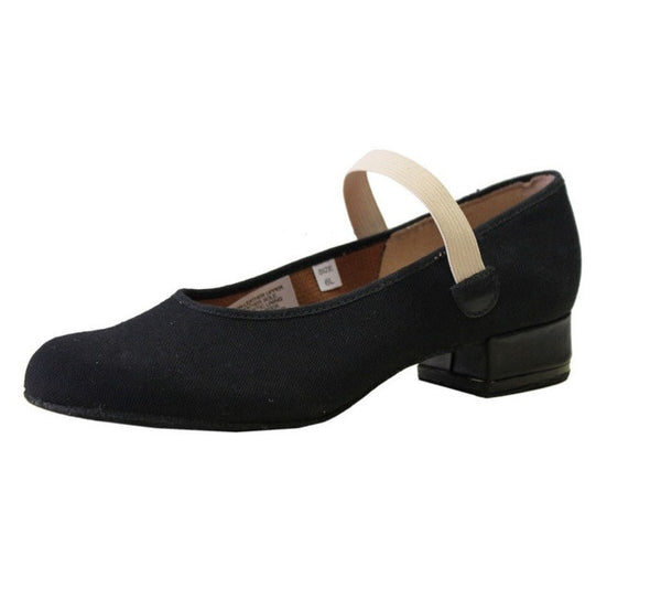 "Bloch S0315G - Karacta Flat .75"" Character Shoe Child"