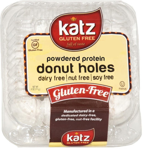 Katz Gluten Free Powdered Protein Donut Holes