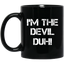 Easy Halloween Devil Costume Mugs