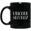 HALLOWEEN COSTUME FUNNY UNICORN SECURITY JOKE GIFTS Mugs