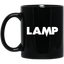 Lamp-Funny-Halloween-Costume-Moth-Meme-Couple-Mugs-BM11OZ-11-oz.-Black-Mug-Black-One-Size