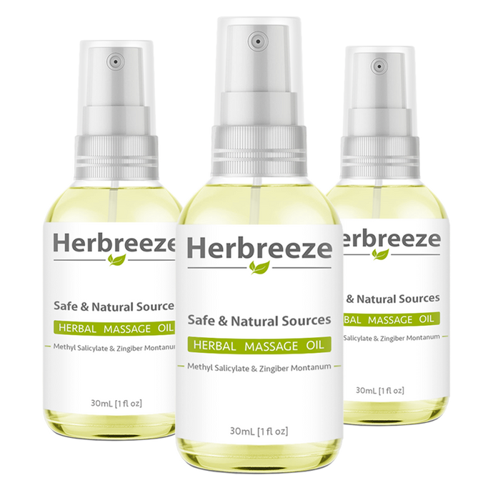 [Set of 3] - Herbreeze Herbal Oil