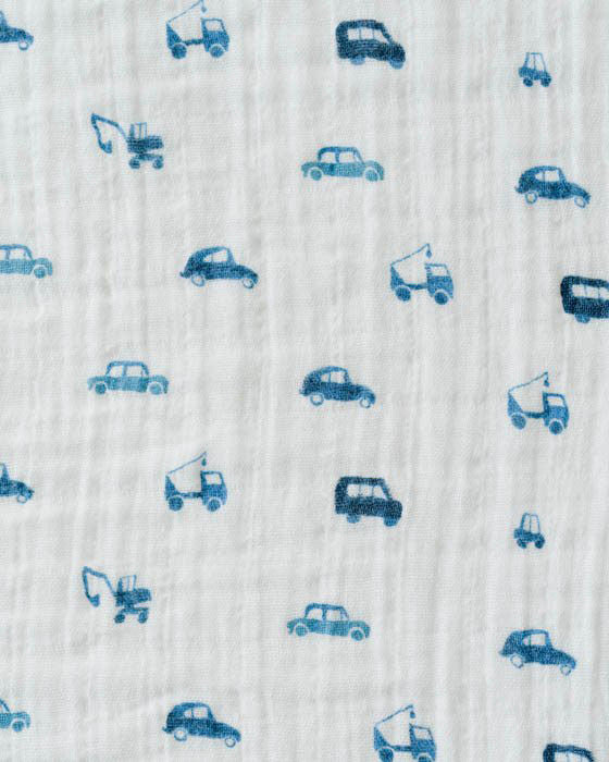 Blue Truck Swaddle - DOT.KIDZ
