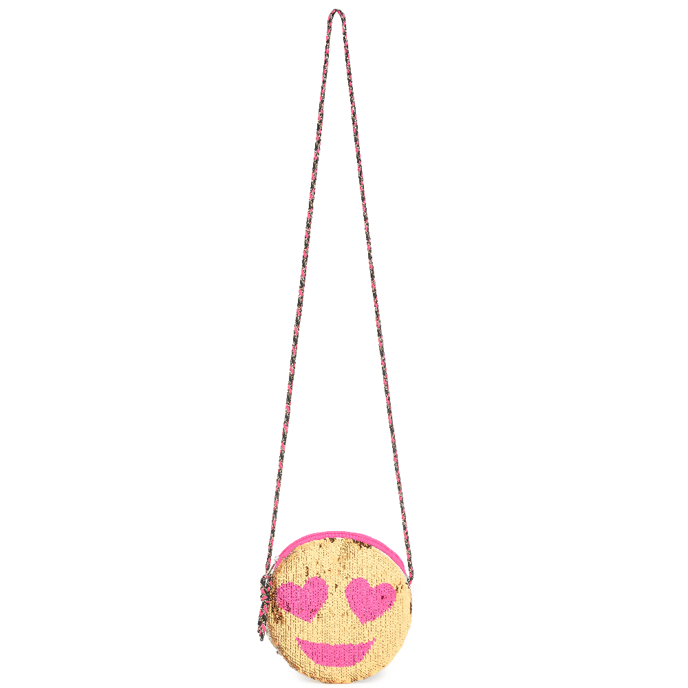 Me Oui - 013.Reversible Sequins Emoji Bag