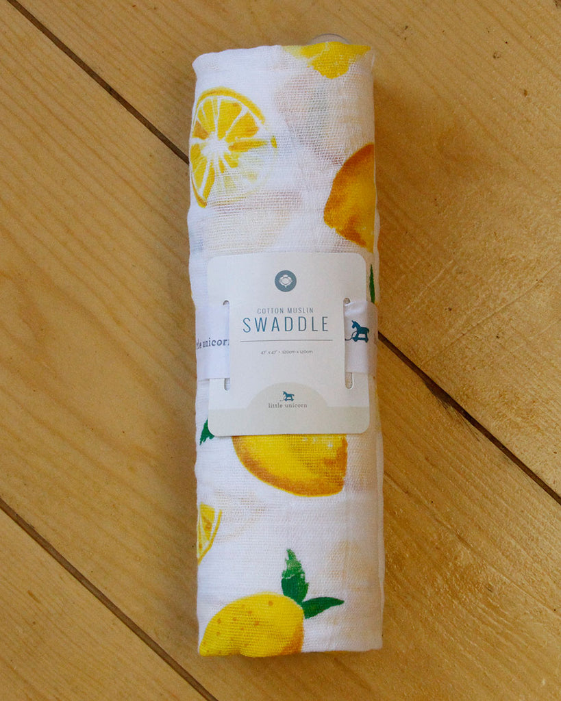 Lemon Swaddle - DOT.KIDZ
