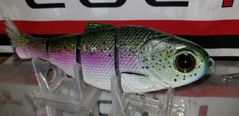 Bull shad swimbaits rainbow trout