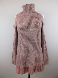 Going Out Tonight Sweater Pink