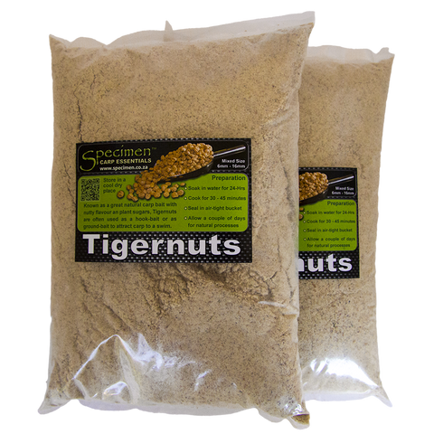 Tigernut Meal is great for Carp ground-feed