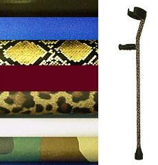 Decorative Crutch Skins in Fashion Prints & Colors