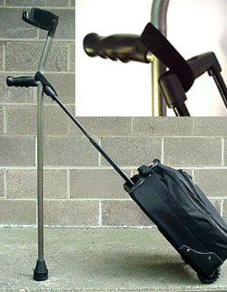 Fetterman Luggage Hitch for Crutches