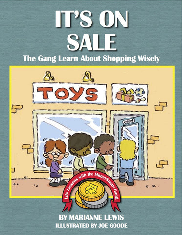 It's on Sale – The MoneySmart Gang Learn About Shopping Wisely