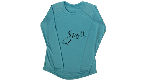 Skoll Female Ocean Blue Long Sleeve UPF 50