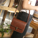 Women Leather Satchel Shoulder Tote Messenger Crossbody Bag - Dimension Dream Seekers