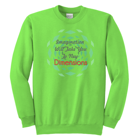 Youth Crewneck Sweatshirt - Dimension Dream Seekers