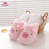 Lovely Women Flip Flop Cute Pig Slippers