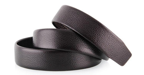 Men's Belt - Extra Top Grain Leather (Black or Brown) - Dexterity Brand