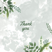 Thank You Meadow Moss Designed Honeyspree Mini Honey Jar