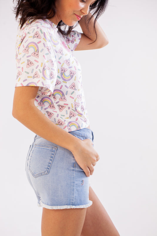 T-shirt Crop-top Licrotte adultes