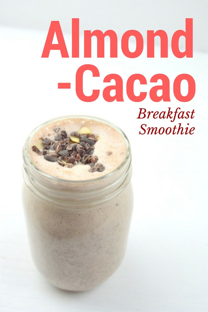 Almond-Cacao Breakfast Smoothie