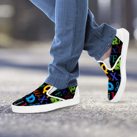 Image of I Teach Slip Ons