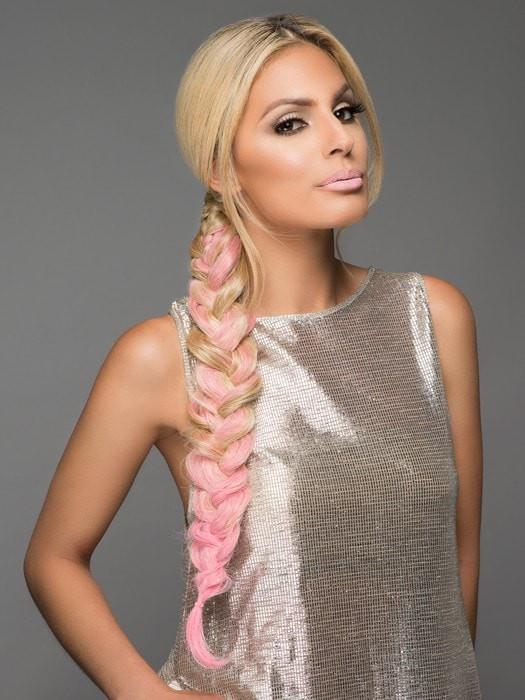 Pink Ponytail Hairpiece