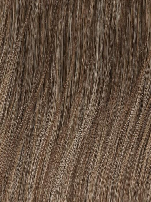 Color GL18-23 = Toasted Pecan: Ash Brown with Cool Blonde highlights