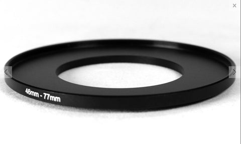 77mm Step Up Adapter Rings