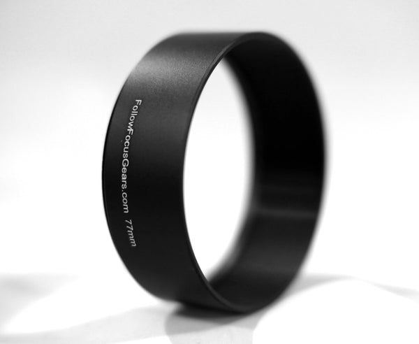 <b>77mm Threaded Cinema Front Ring</b> ( 80mm Outside Diameter / 20mm Width for Tighter Focal Lengths)