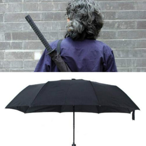 Folding Samurai Swords Umbrella