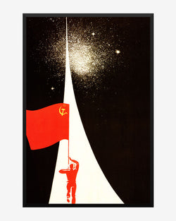 Through the Worlds and Ages - Soviet Era Poster