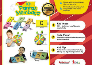 KIT PANTAS MEMBACA - Children Islamic Collection