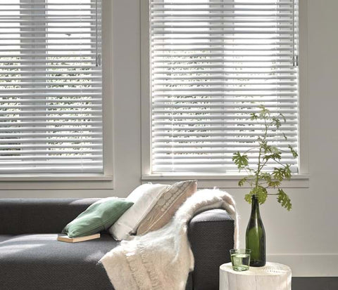 Luxaflex Aluminium Venetians at Fabers Furnishings