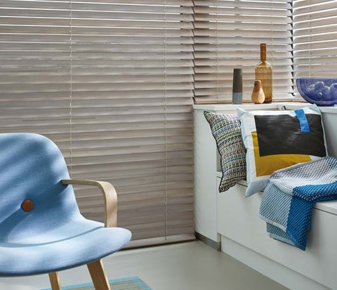 Luxaflex Woodmates Venetians at Fabers Furnishings