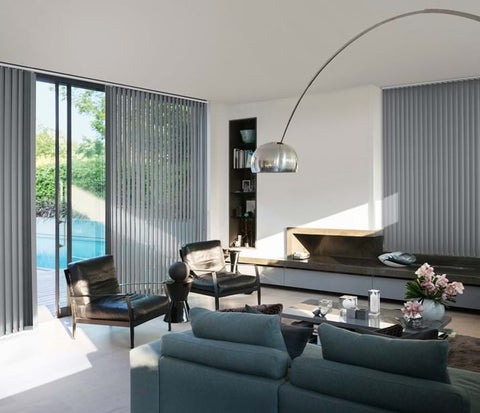 Luxaflex Vertical Blinds at Fabers Furnishings