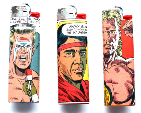 WCW COMIC BOOK LIGHTERS [SERIES 2]