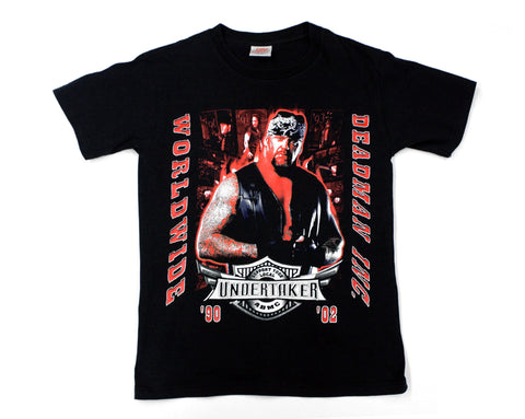 WWE UNDERTAKER DEADMAN INC WORLWIDE T-SHIRT MED