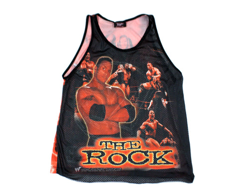 WWF ATTITUDE / THE ROCK JERSEY XL