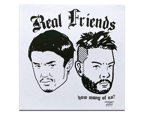 REAL FRIENDS POSTER PRINT