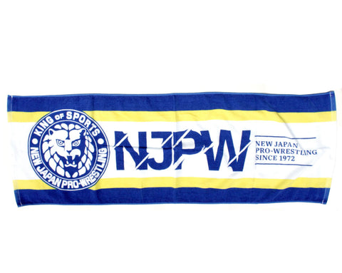 NJPW BLUE/YELLOW TOWEL