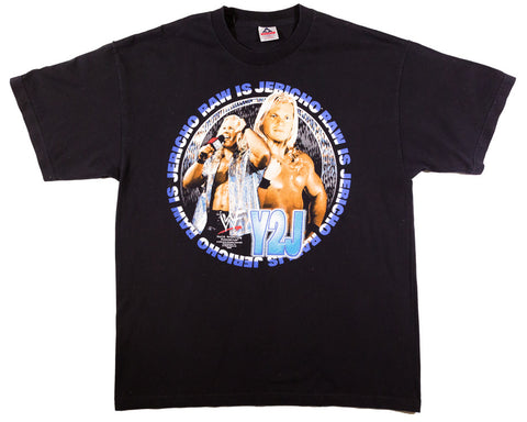 CHRIS JERICHO RAW IS JERICHO FACE VINTAGE T-SHIRT