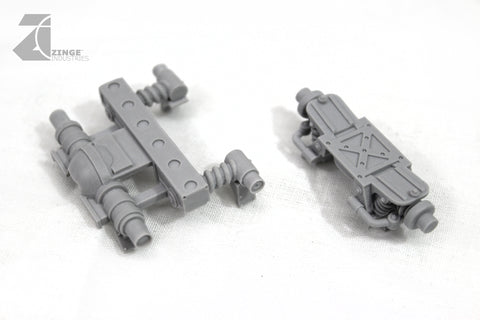 Half Track Suspension Set