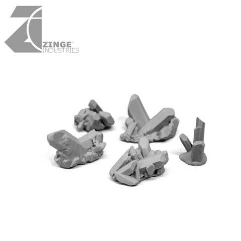 Dark Magic Crystals - Large - Sprue of 5