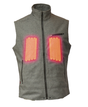 EMPIRE 5v Wool Heated Vest by Volt