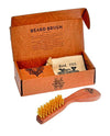 Kent (K-BBRUSH) Wooden Beard Brush (165mm/6.5in)