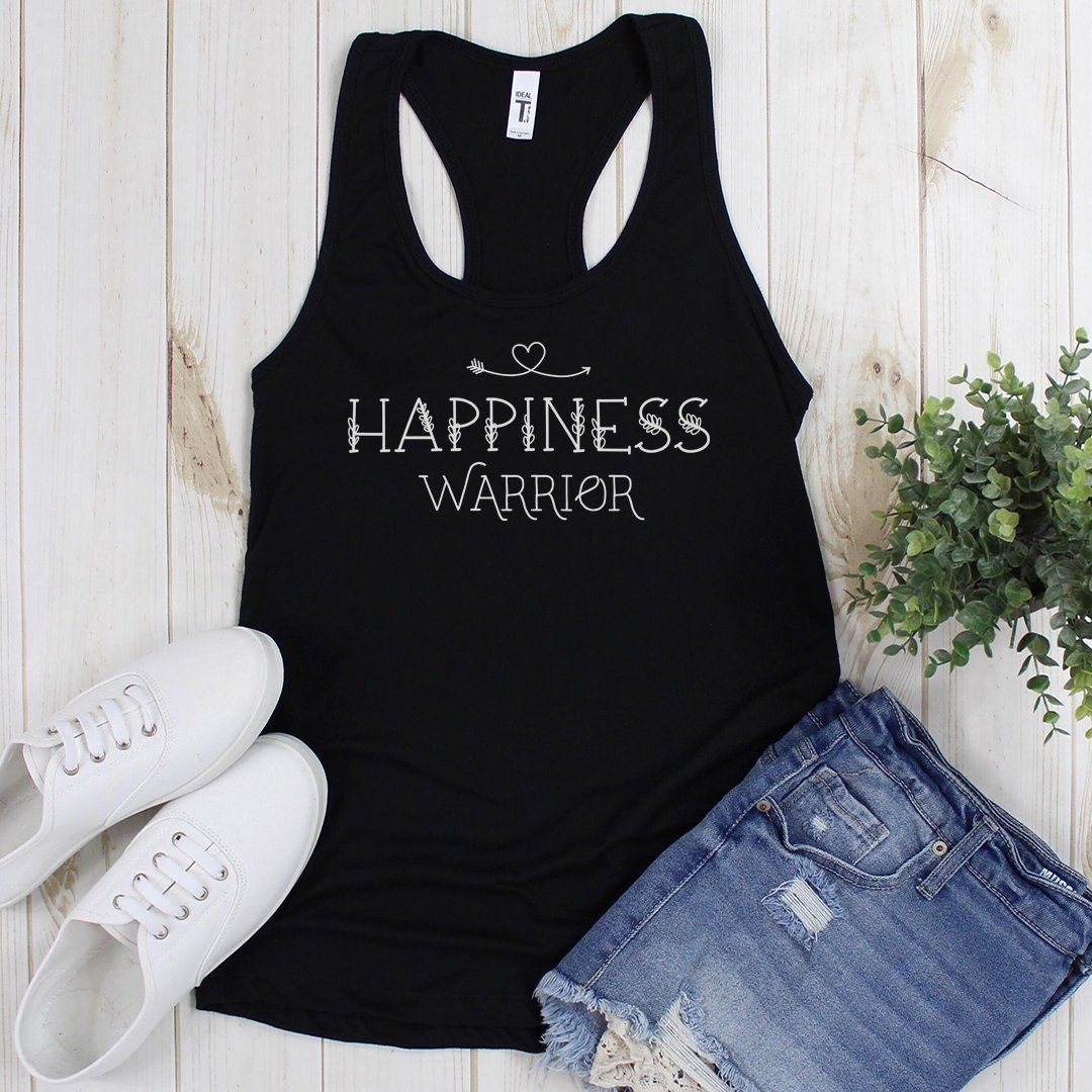 Happiness Warrior • Women's Tees & Tank Tops