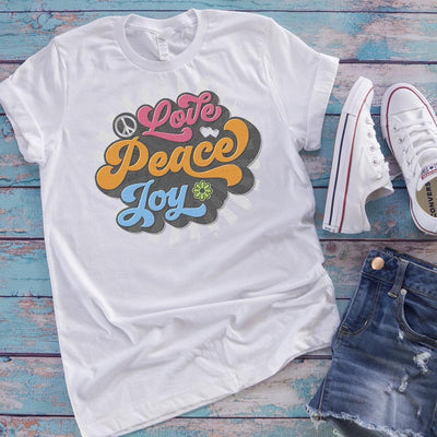 Love, Peace, Joy • Women's Tees