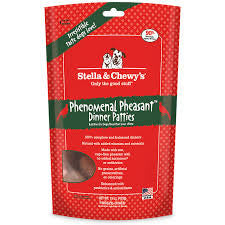 Stella and Chewy's Freeze Dried Dinner Patties - Phenomenal Phesant