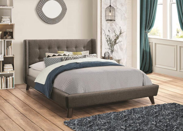 Carrington Upholstered Bed (Sold in store only) - Eighth & Main